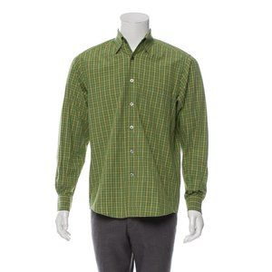 Ermenegildo Zegna Plaid Collared Shirt